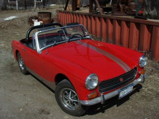 MG Midget restored and sold