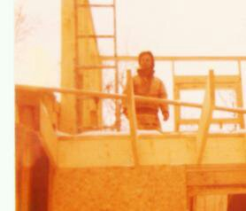 1979 building the house