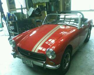 1973 MG Midget all fixed