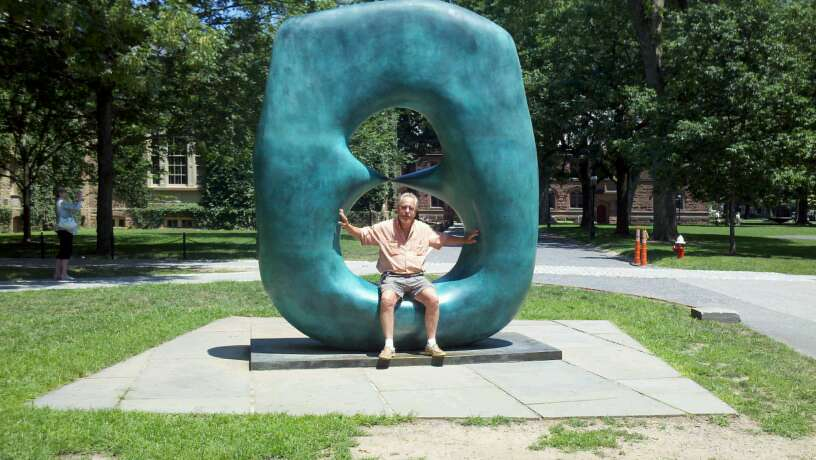 Will in a Henry Moore, Princeton