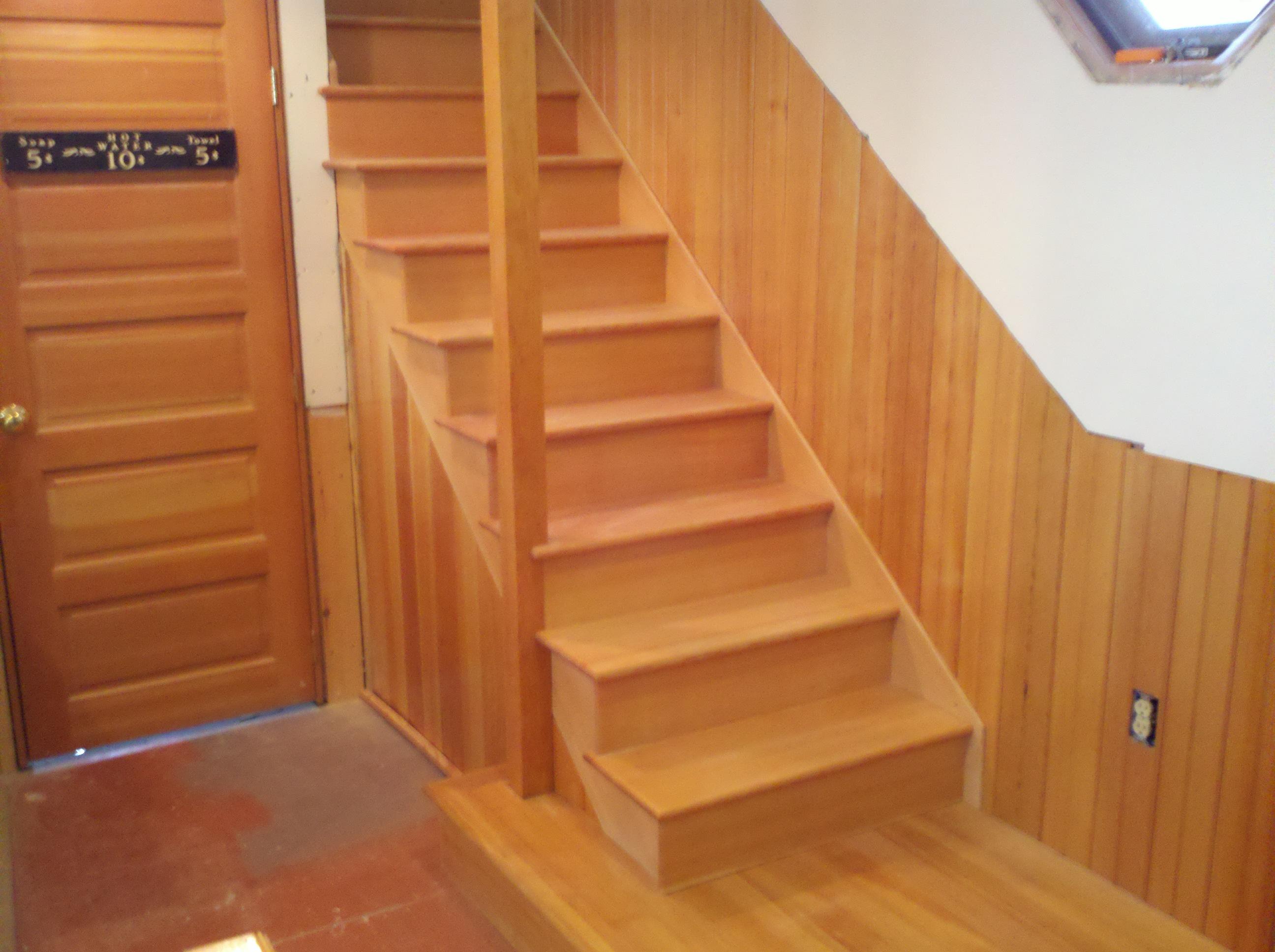 D. Spurrell Fir stairway
