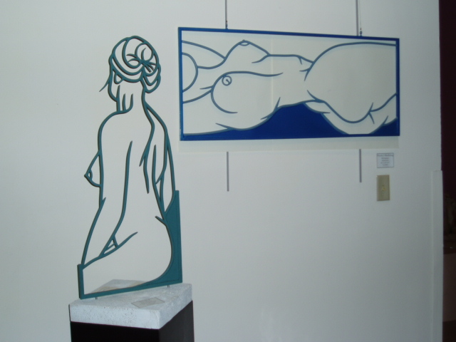 Art Show - Nicole, Steel