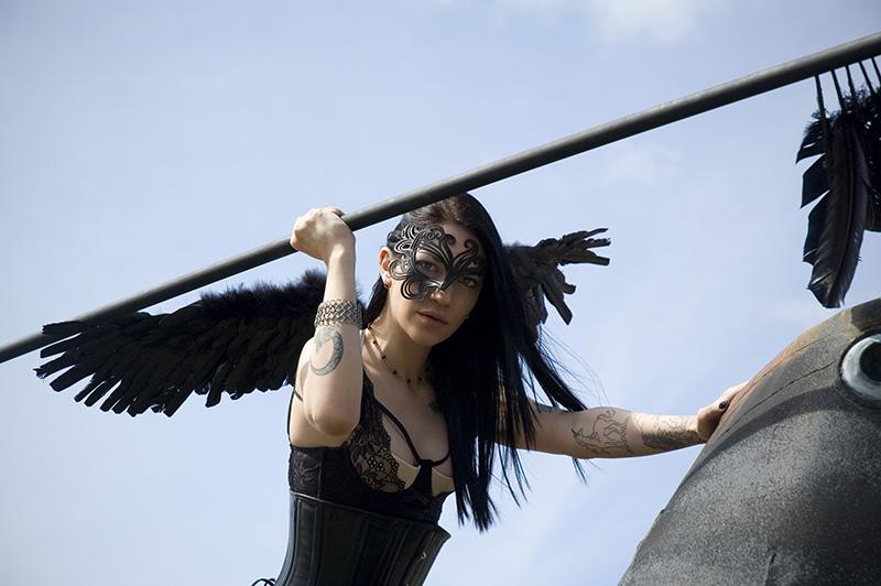 Crow princess close