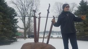 Warriors Monument, Claymore Swords