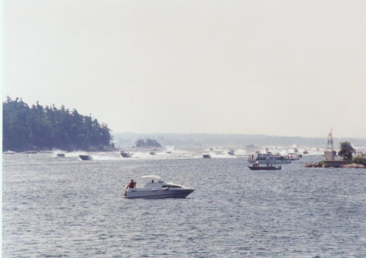 Poker run, Picton Channell
