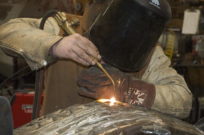 Sturgeon Fish, Will Torch welding