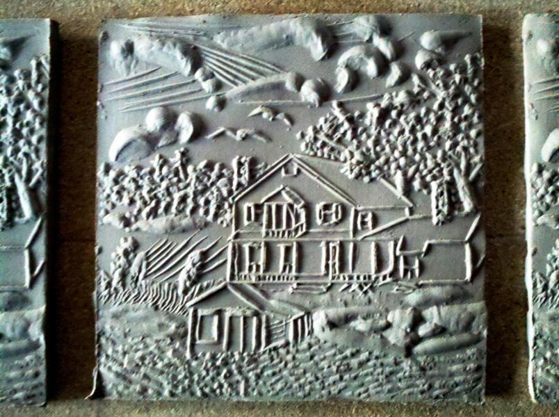 Grenell Tile unfired