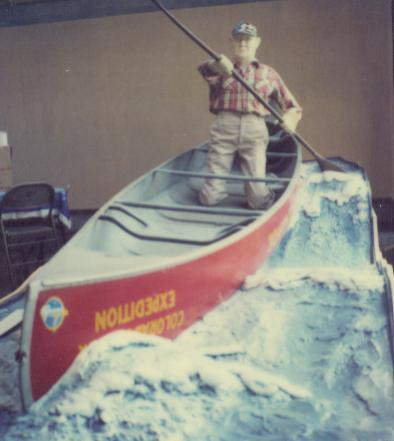 Homer Dodge Rapids Canoe, ABM