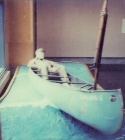 H.D. Sailing Canoe. ABM 1981