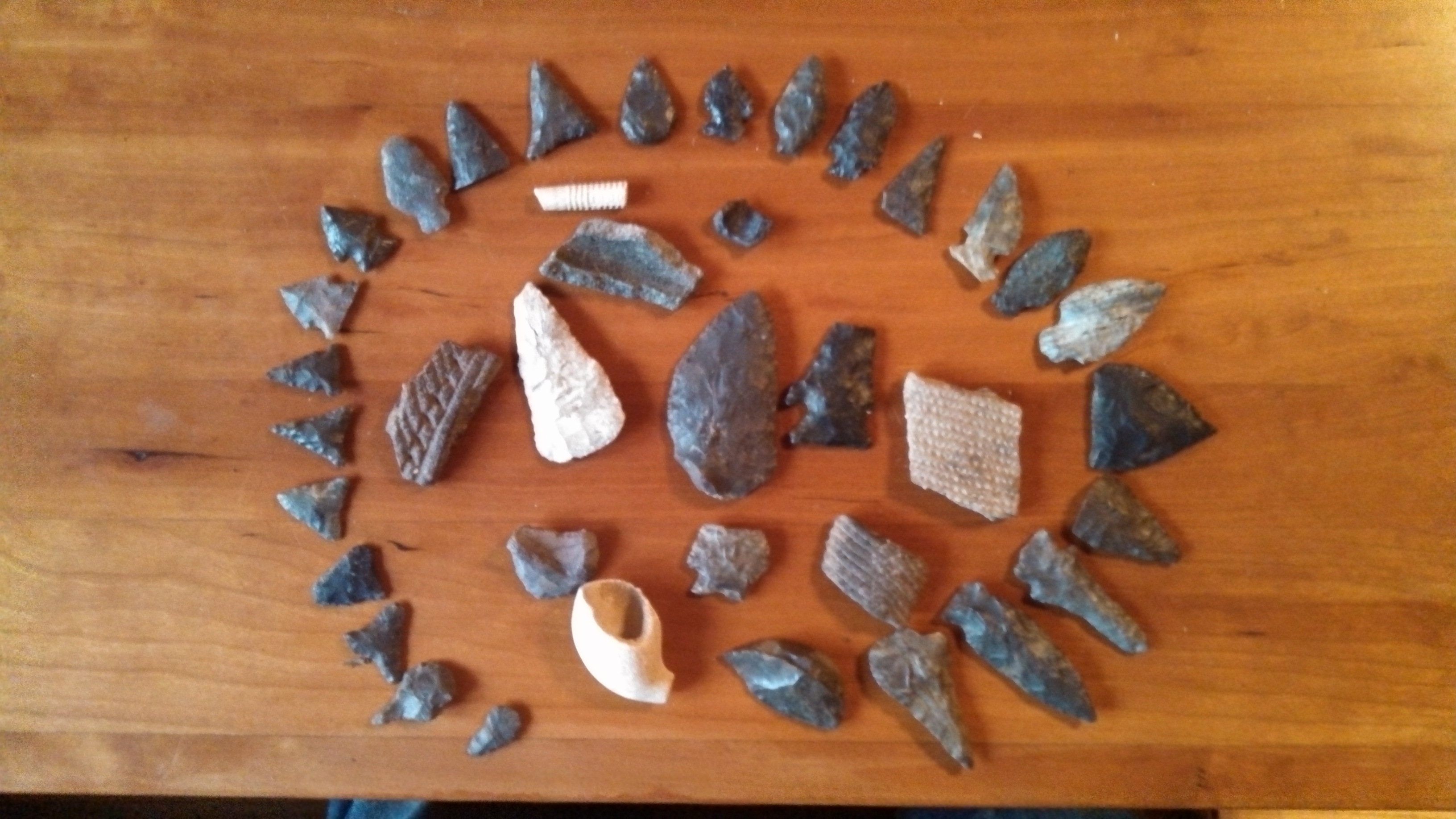 Some arrow heads