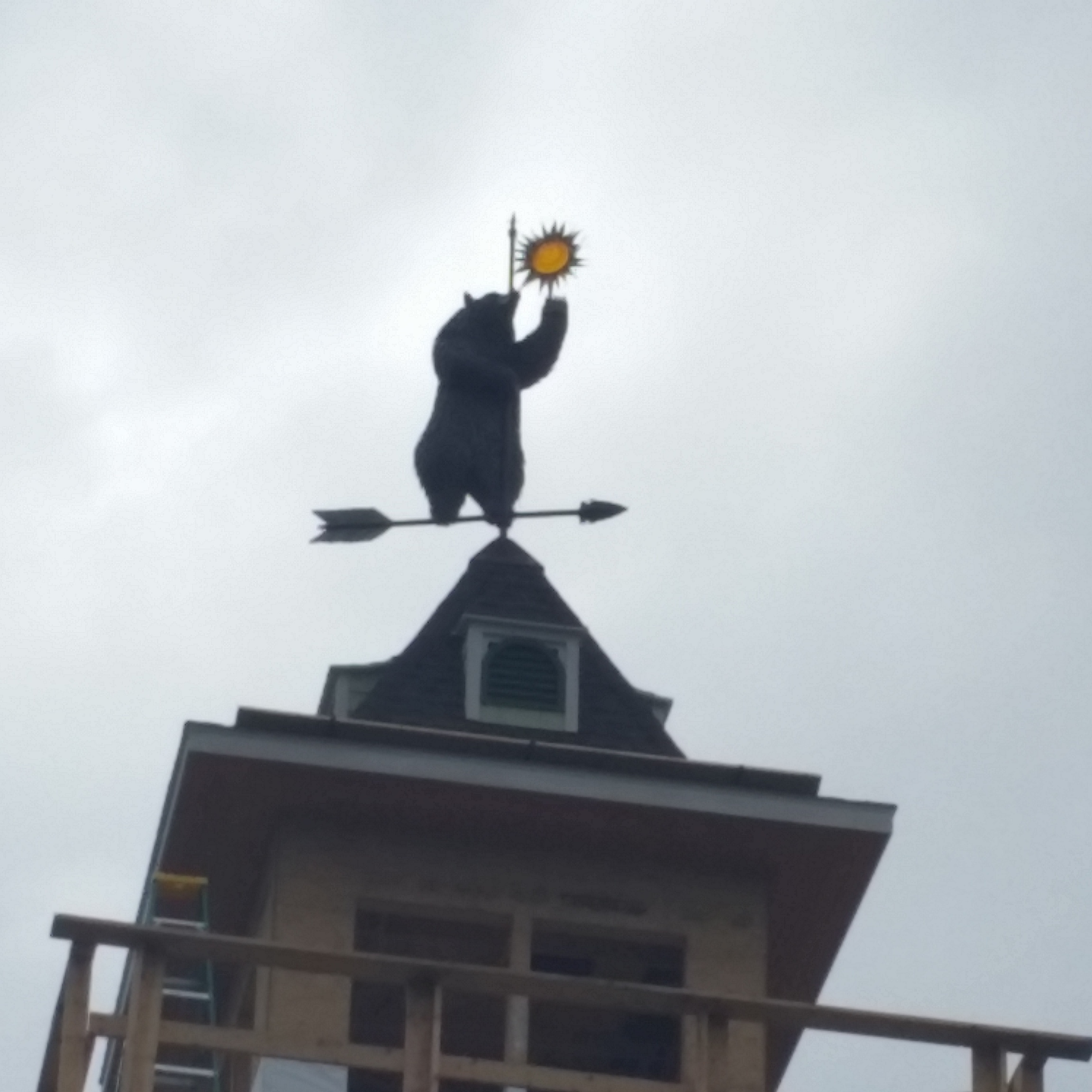 Standing Bear weathervane