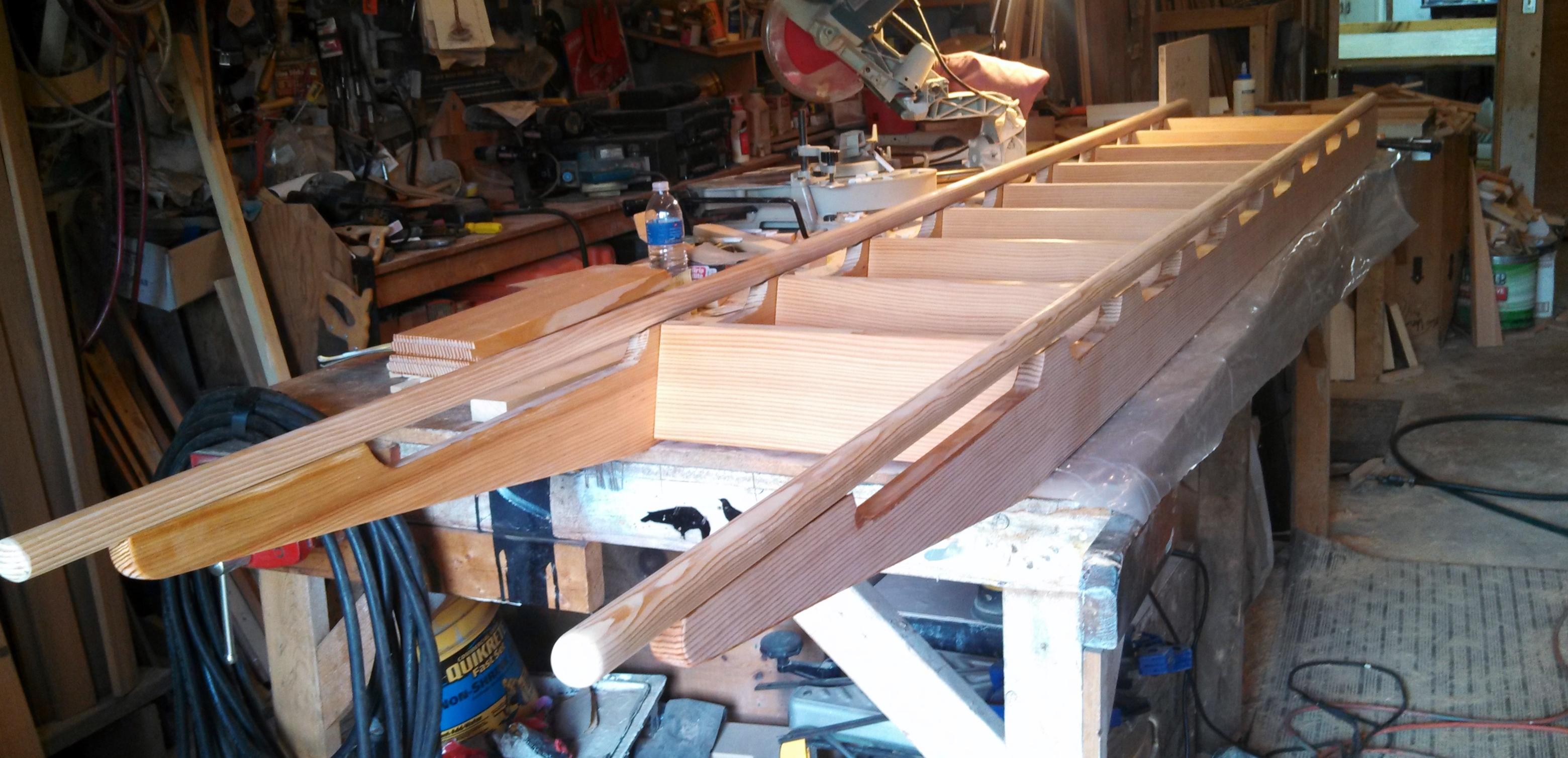Margolis Fir Ladder for loft 2013