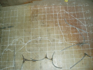 Nic. 7 on Floor in scale sketch