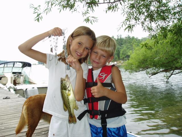 Autumn & Ethan w fish