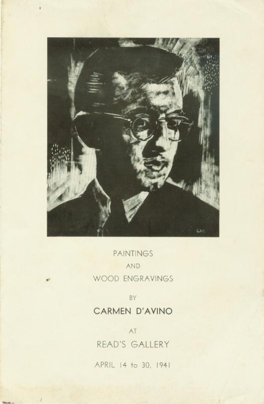 Carmen Di Vino, NYC 1941