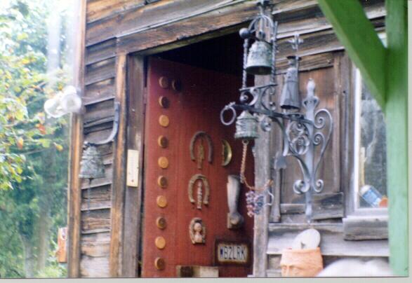 Carmens back door