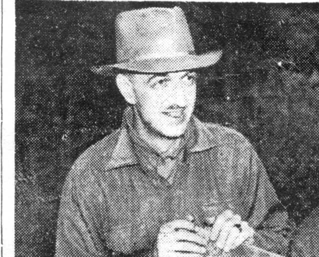 William Root Salisbury on the job in WW 11, William Root Salisbury doing his bit