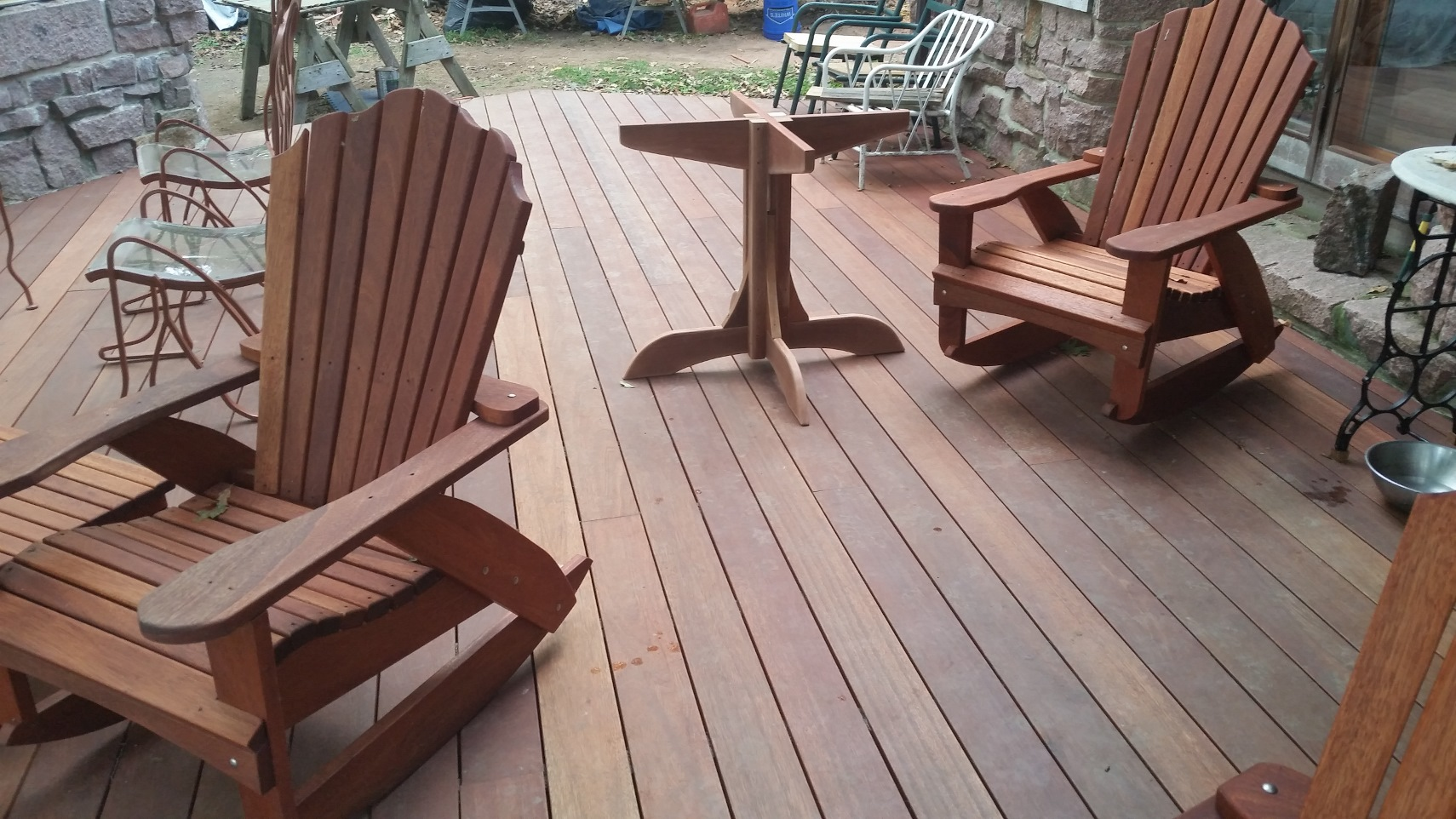 New deck at home