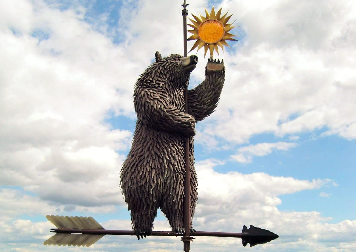 Bear Weathervane