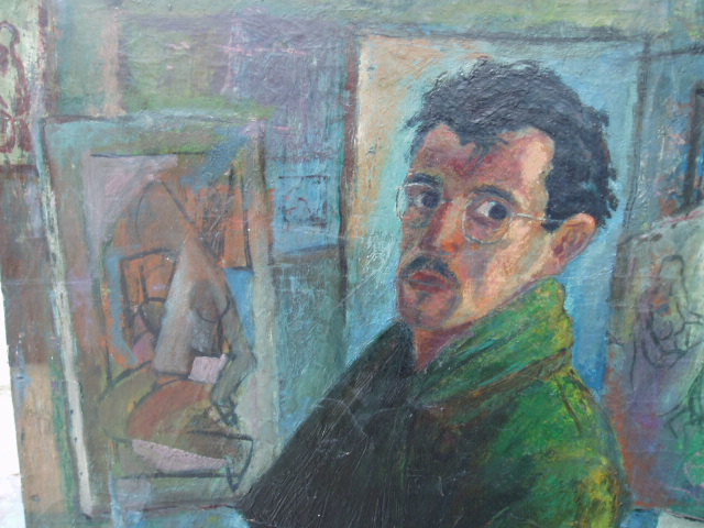 Carmen's self portrait in Paris 1947