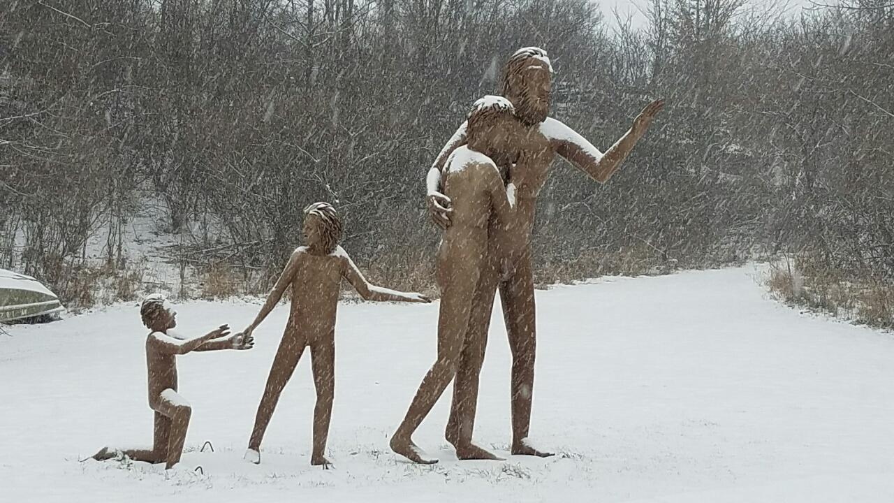 Snowy Moonwalkers