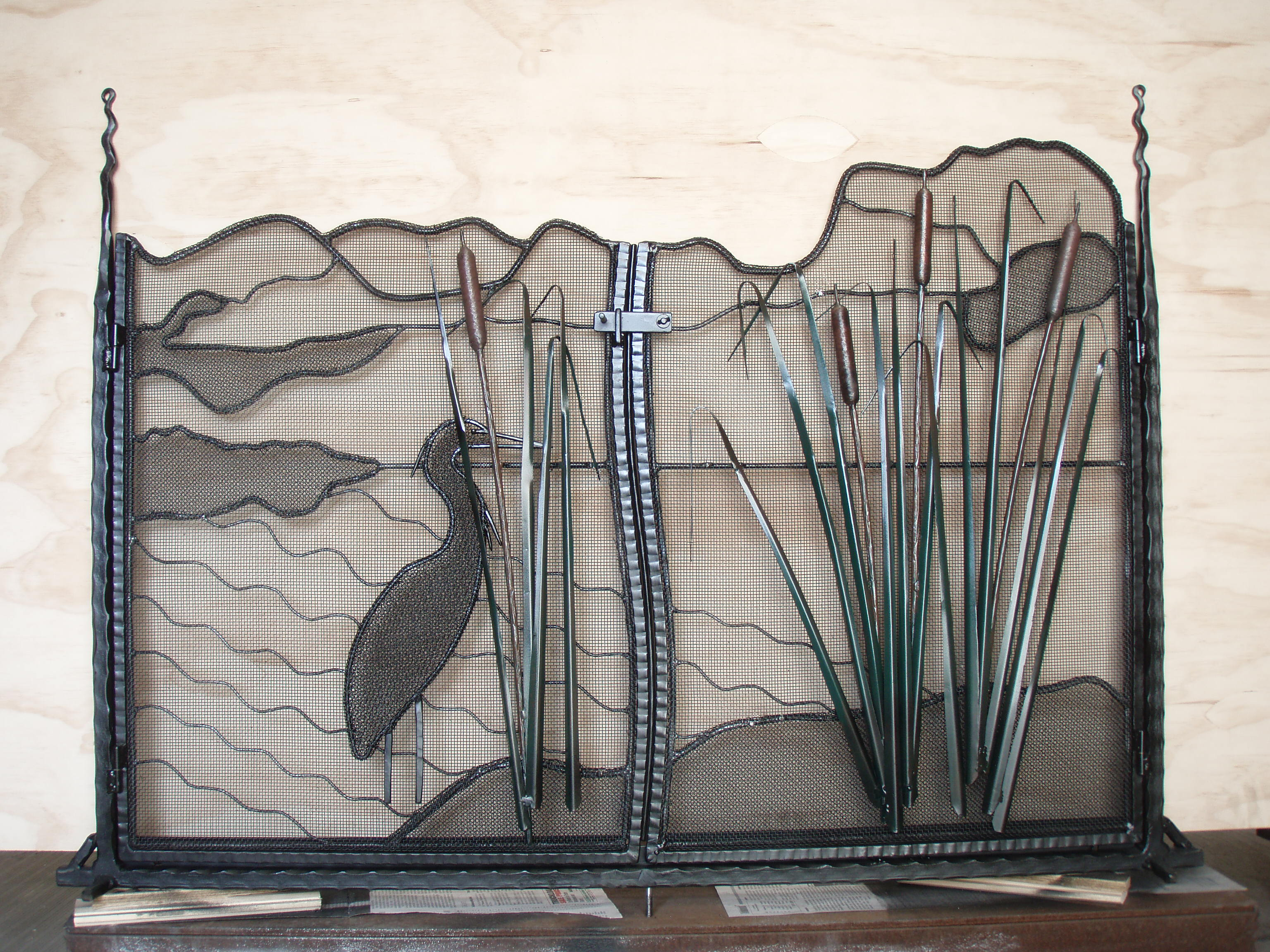 Fireplace Screen 2
