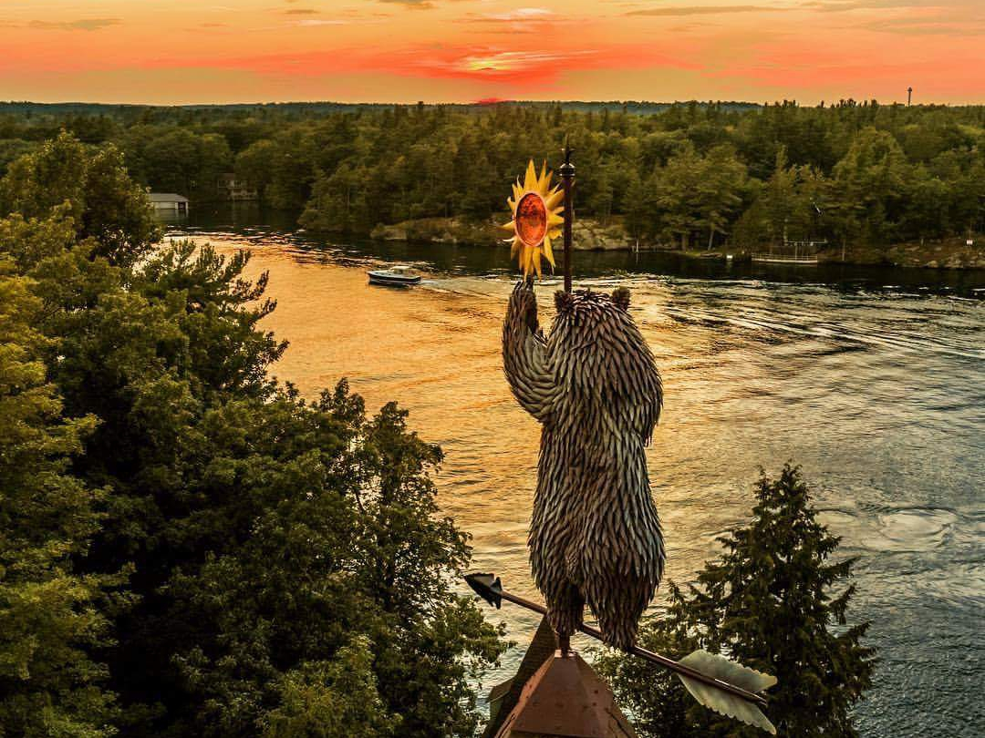 Bear Sunset