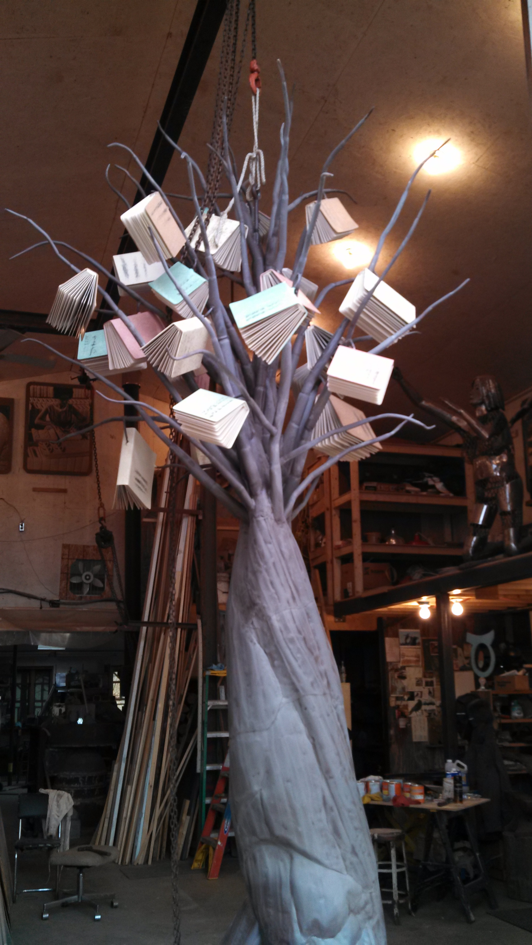Tree in Shop